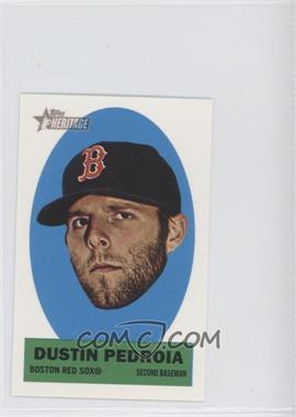 2012 Topps Heritage Stick-Ons #40 - Dustin Pedroia
