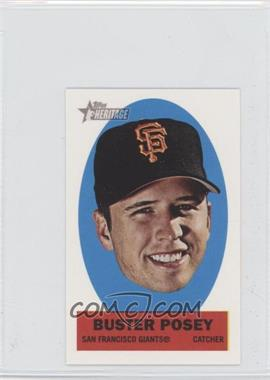2012 Topps Heritage Stick-Ons #44 - Buster Posey