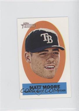 2012 Topps Heritage Stick-Ons #45 - Matt Moore