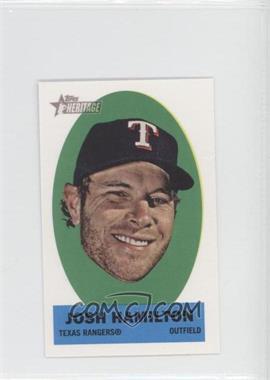 2012 Topps Heritage Stick-Ons #7 - Josh Hamilton