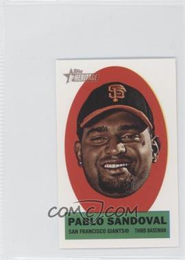 2012 Topps Heritage Stick-Ons #8 - Pablo Sandoval