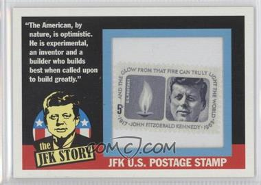 2012 Topps Heritage The JFK Story Stamp Collection #JFK4 - John F. Kennedy /63