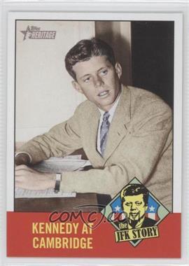 2012 Topps Heritage The JFK Story #JFK1 - John F. Kennedy