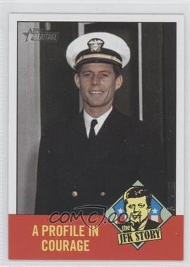 2012 Topps Heritage The JFK Story #JFK2 - John F. Kennedy