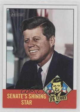 2012 Topps Heritage The JFK Story #JFK3 - John F. Kennedy