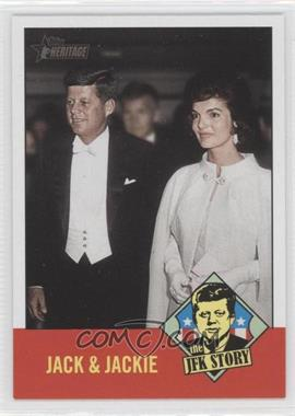2012 Topps Heritage The JFK Story #JFK4 - John F. Kennedy