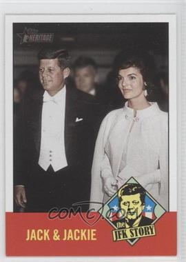 2012 Topps Heritage The JFK Story #JFK4 - [Missing]