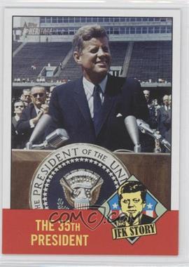 2012 Topps Heritage The JFK Story #JFK5 - John F. Kennedy