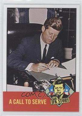 2012 Topps Heritage The JFK Story #JFK6 - John F. Kennedy