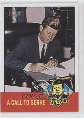 2012 Topps Heritage The JFK Story #JFK6 - [Missing]
