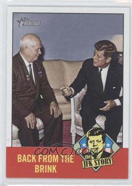 2012 Topps Heritage The JFK Story #JFK7 - John F. Kennedy