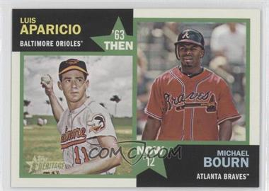 2012 Topps Heritage Then and Now #TN-AB - [Missing]