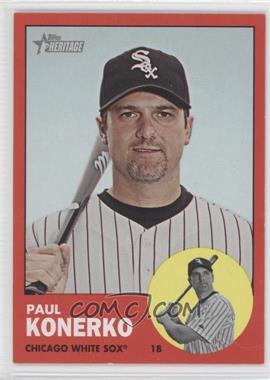2012 Topps Heritage #100.2 - Paul Konerko (Target Red)