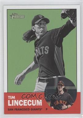 2012 Topps Heritage #106 - Tim Lincecum