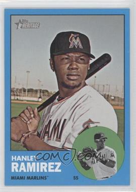 2012 Topps Heritage #122 - Hanley Ramirez