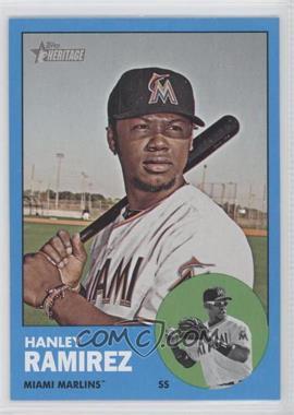 2012 Topps Heritage #122.2 - Hanley Ramirez (Wal-Mart Blue)