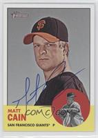 Matt Cain [PSA/DNA Certified Auto]