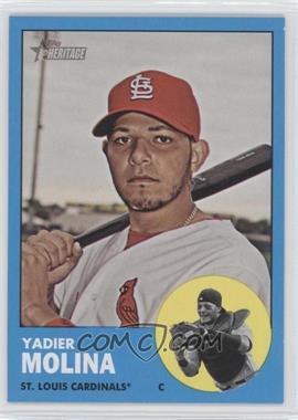 2012 Topps Heritage #172.2 - Yadier Molina (Wal-Mart Blue)