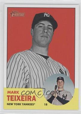 2012 Topps Heritage #183 - Mark Teixeira