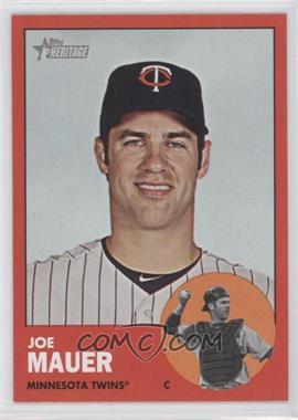 2012 Topps Heritage #186 - Joe Mauer