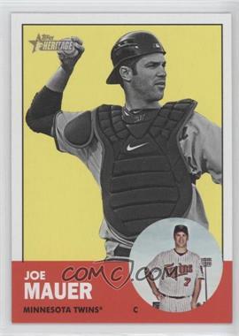 2012 Topps Heritage #186.2 - Joe Mauer (Image Swap)
