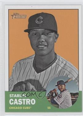 2012 Topps Heritage #193 - Starlin Castro