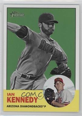 2012 Topps Heritage #197.2 - Ian Kennedy (Image Swap Variation)