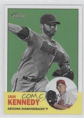 2012 Topps Heritage #197.2 - Ian Kennedy (Image Swap Variation)