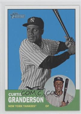 2012 Topps Heritage #200 - Curtis Granderson