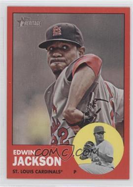 2012 Topps Heritage #22 - Edwin Jackson