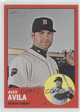 2012 Topps Heritage #224 - Alex Avila (Target Red parallel)