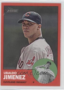 2012 Topps Heritage #227.2 - Ubaldo Jimenez (Target Red)