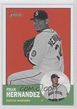 2012 Topps Heritage #246 - Felix Hernandez