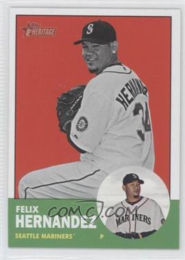2012 Topps Heritage #246.2 - Felix Hernandez (Image Swap)