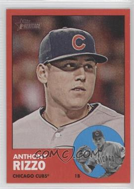2012 Topps Heritage #260 - Anthony Rizzo