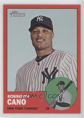 2012 Topps Heritage #264 - Robinson Cano