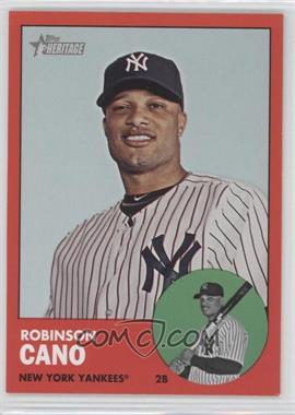 2012 Topps Heritage #264.3 - Robinson Cano (Target Red)