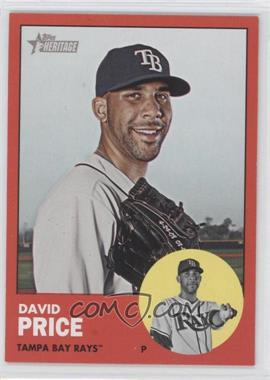 2012 Topps Heritage #277 - David Price