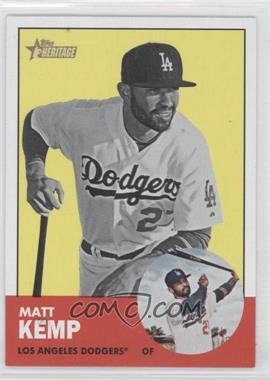 2012 Topps Heritage #279.2 - Matt Kemp (Image Swap)