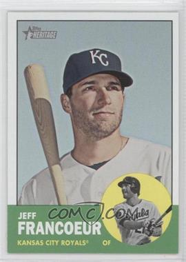 2012 Topps Heritage #282.2 - Jeff Francoeur (Color Swap)