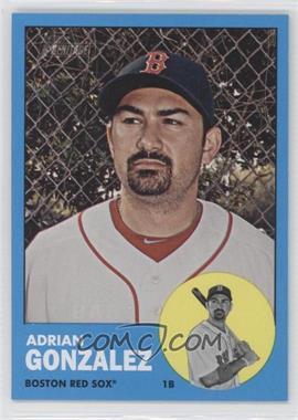 2012 Topps Heritage #285.2 - Adrian Gonzalez (Wal-Mart Blue Border)