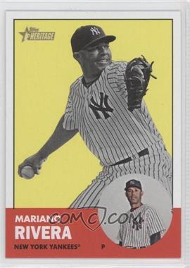 2012 Topps Heritage #289.2 - Mariano Rivera (Image Swap)