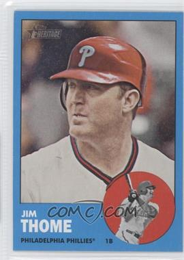 2012 Topps Heritage #296.2 - Jim Thome (Wal-Mart Blue)