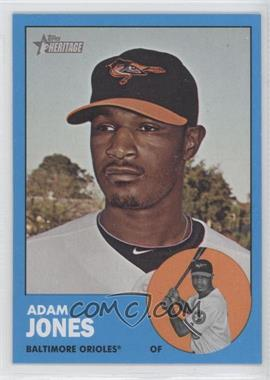 2012 Topps Heritage #319 - Adam Jones