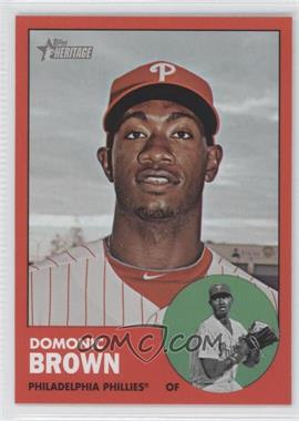 2012 Topps Heritage #32 - Domonic Brown