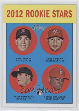 2012 Topps Heritage #321 - [Missing]