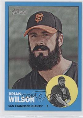 2012 Topps Heritage #325 - Brian Wilson