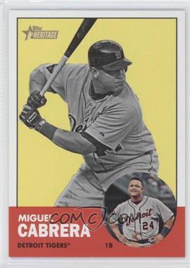 2012 Topps Heritage #348 - Miguel Cabrera