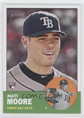 2012 Topps Heritage #391 - Matt Moore