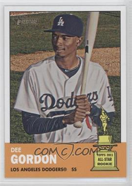 2012 Topps Heritage #427 - Dee Gordon